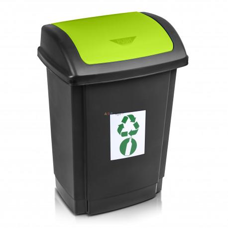 Praktyczne stojaki do segregacji odpadów